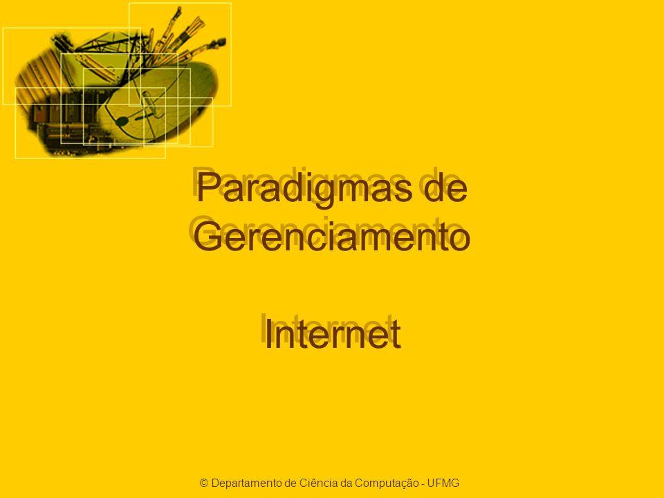 Paradigmas de Gerenciamento Internet