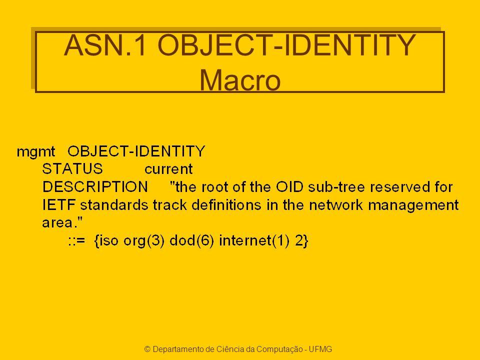 ASN.1 OBJECT-IDENTITY Macro