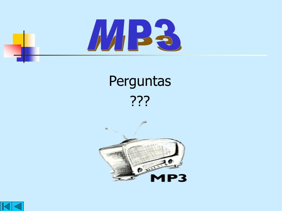 MP3 Perguntas