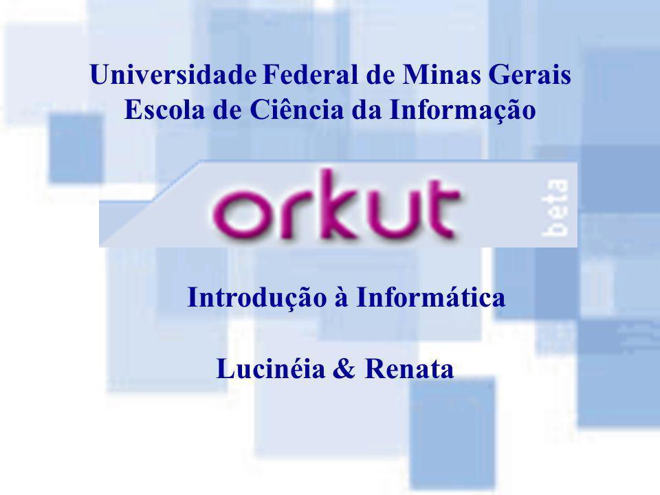 Universidade Federal de Minas Gerais Escola de Ciência da Informação