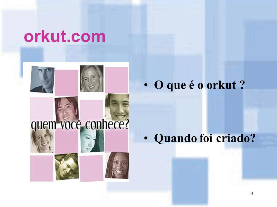 orkut.com O que é o orkut Quando foi criado
