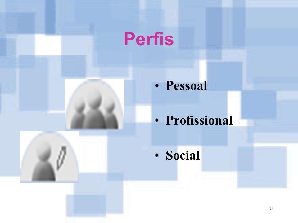 Perfis Pessoal Profissional Social