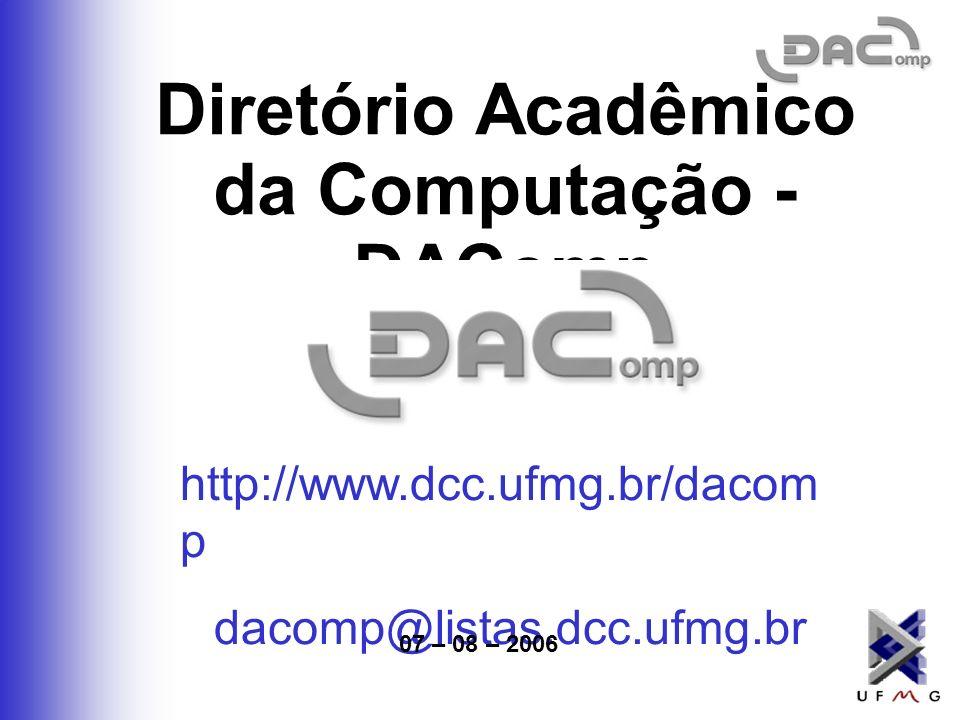 Diretório Acadêmico da Computação - DAComp