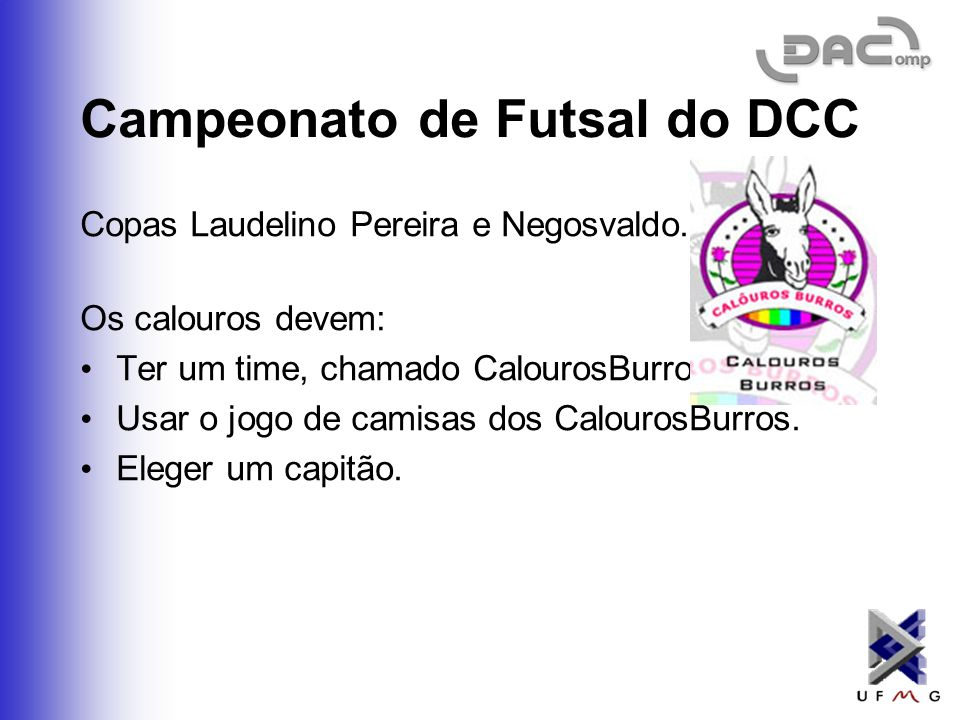 Campeonato de Futsal do DCC