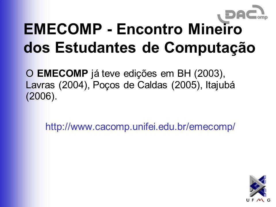 EMECOMP - Encontro Mineiro dos Estudantes de Computação