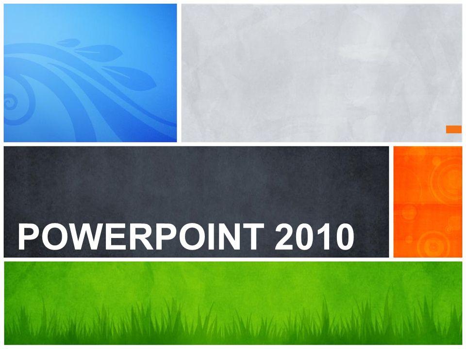 POWERPOINT 2010 Qual é a sua Mensagem
