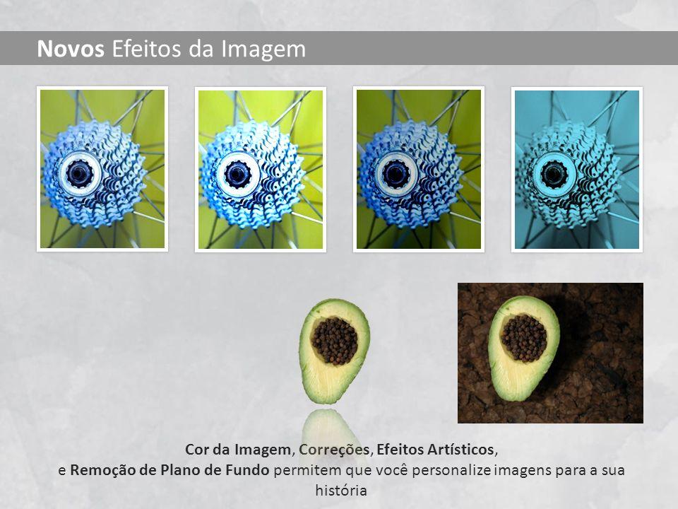 Novos Efeitos da Imagem