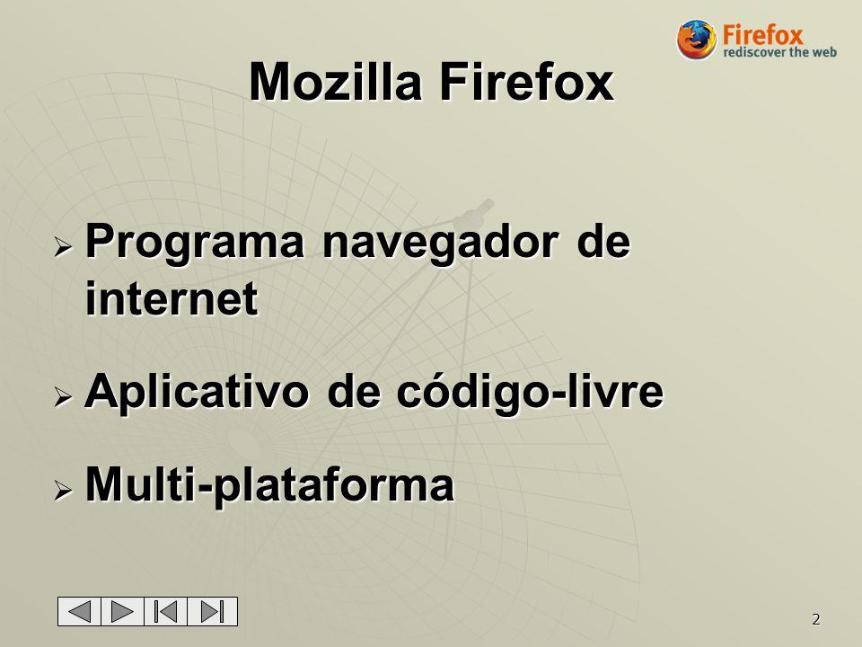 Mozilla Firefox Programa navegador de internet
