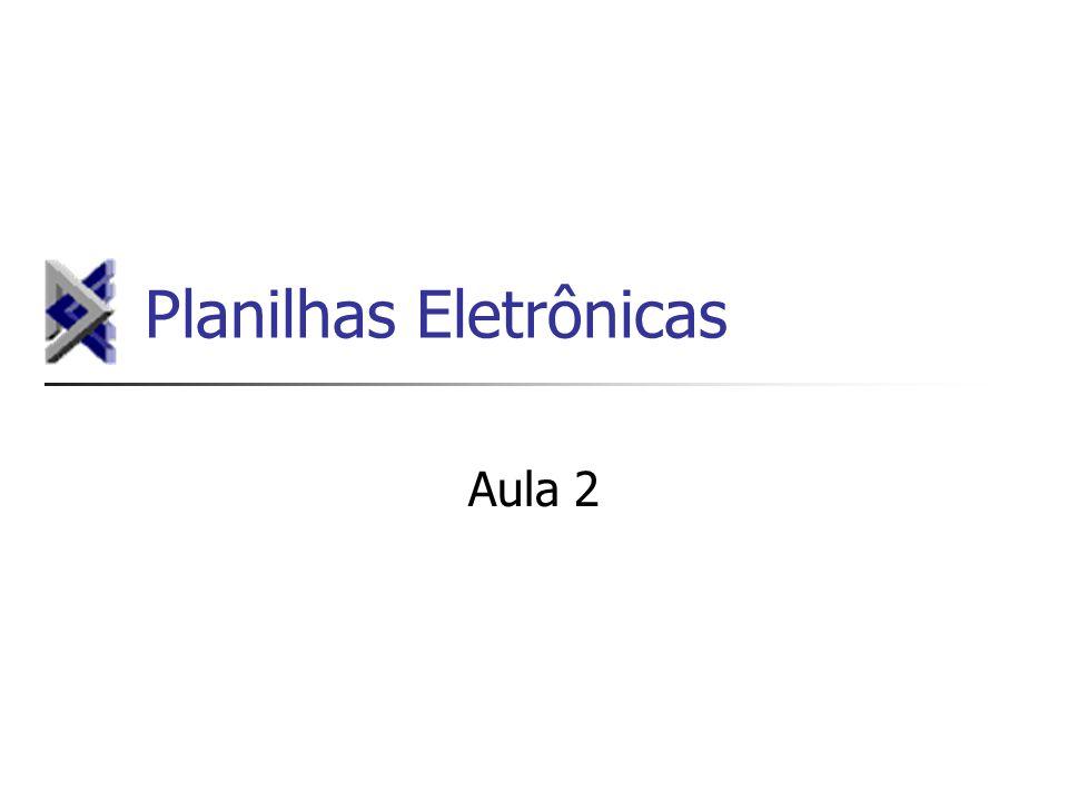 Planilhas Eletrônicas