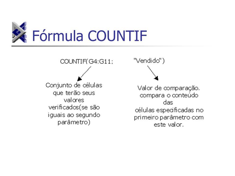 Fórmula COUNTIF