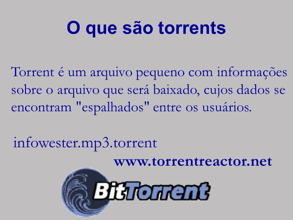 O que são torrents infowester.mp3.torrent www.torrentreactor.net