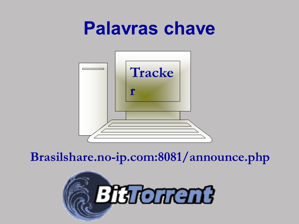 Palavras chave Tracker Brasilshare.no-ip.com:8081/announce.php