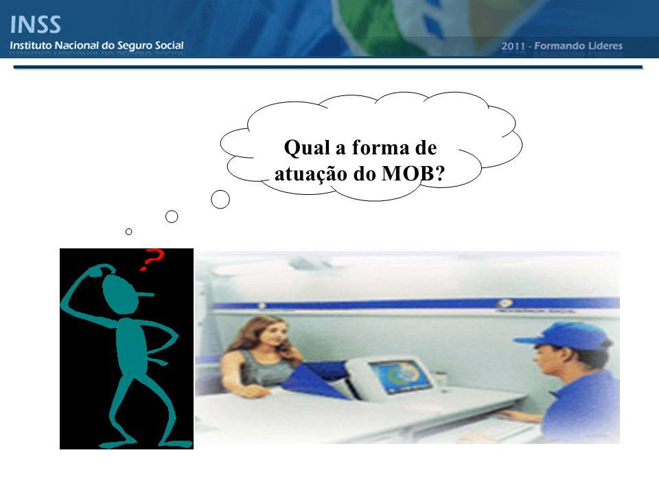 Qual a forma de atuação do MOB