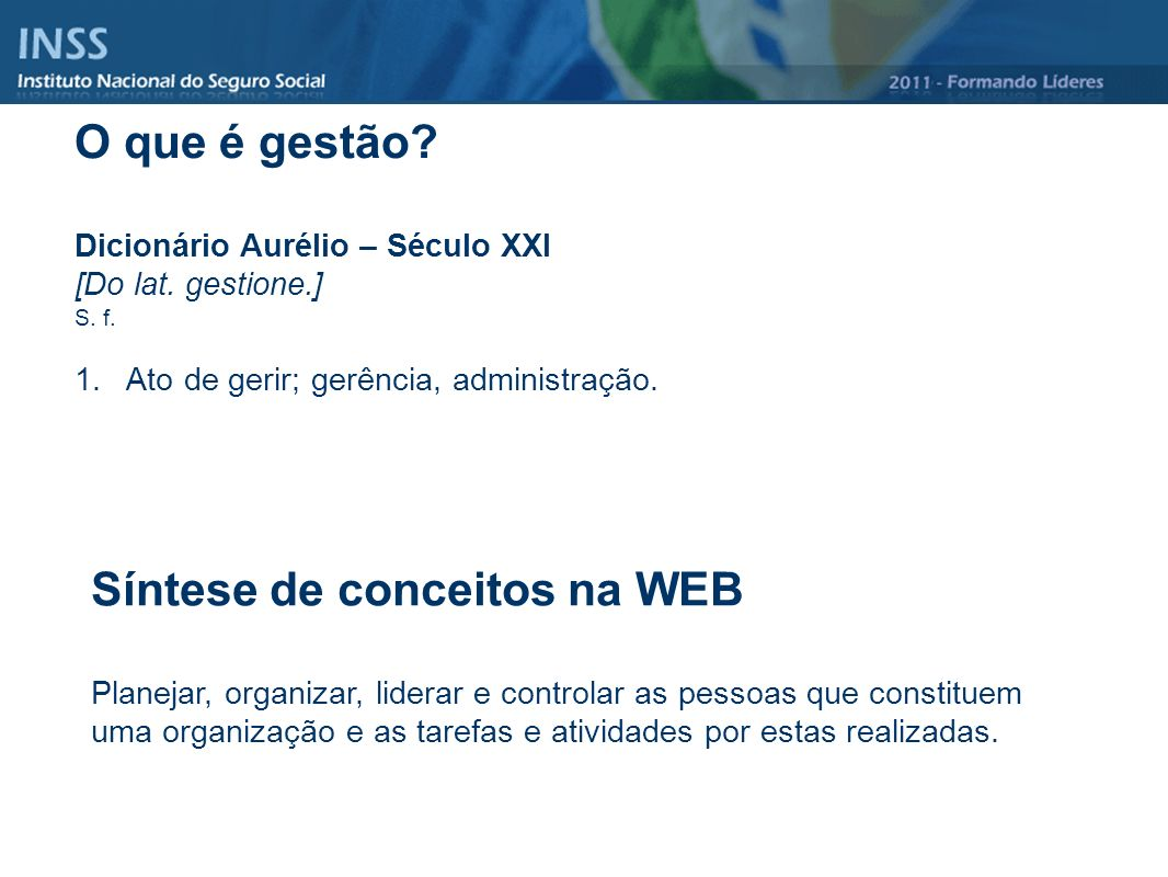 Síntese de conceitos na WEB
