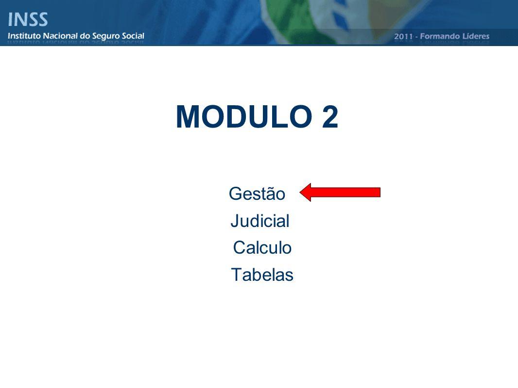 MODULO 2 Gestão Judicial Calculo Tabelas