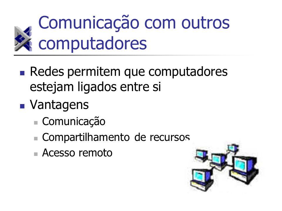 Comunicação com outros computadores