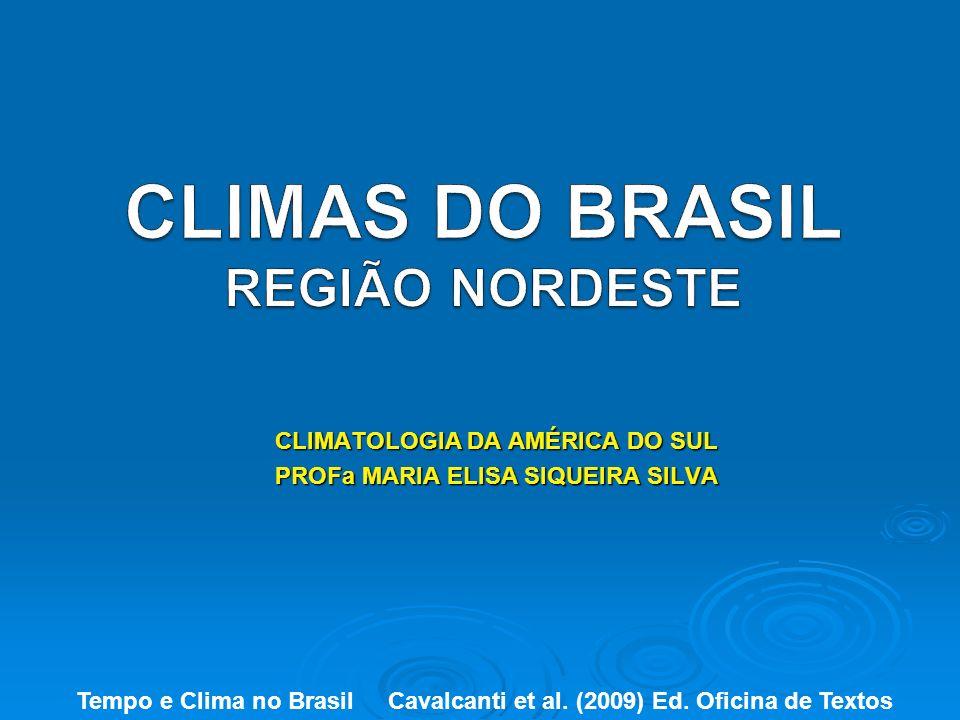 CLIMAS DO BRASIL REGIÃO NORDESTE