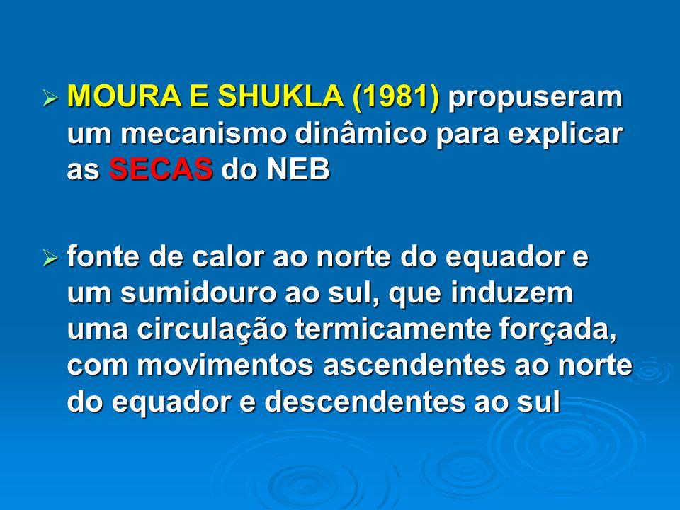 MOURA E SHUKLA (1981) propuseram um mecanismo dinâmico para explicar as SECAS do NEB