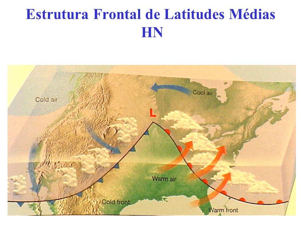 Estrutura Frontal de Latitudes Médias HN
