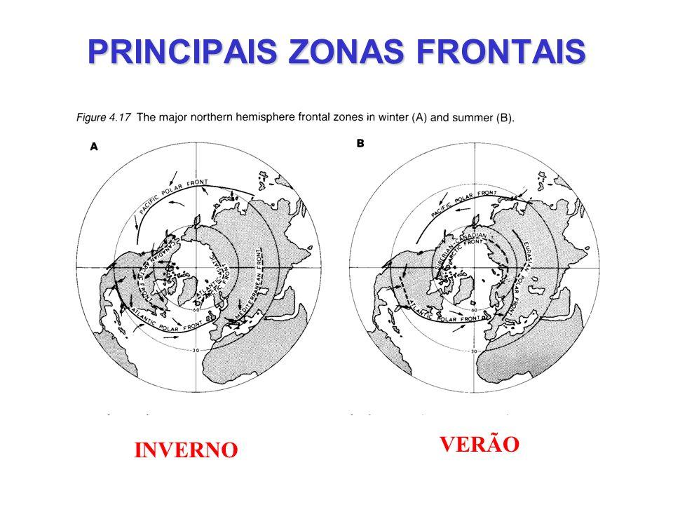 PRINCIPAIS ZONAS FRONTAIS