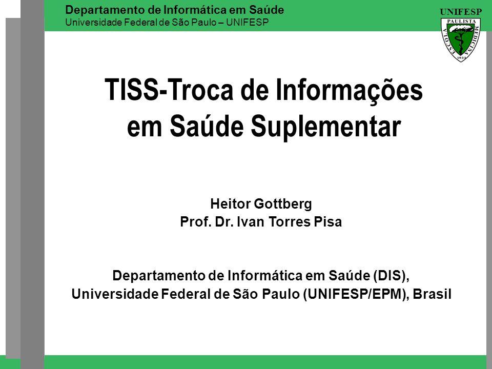 TISS-Troca de Informações em Saúde Suplementar