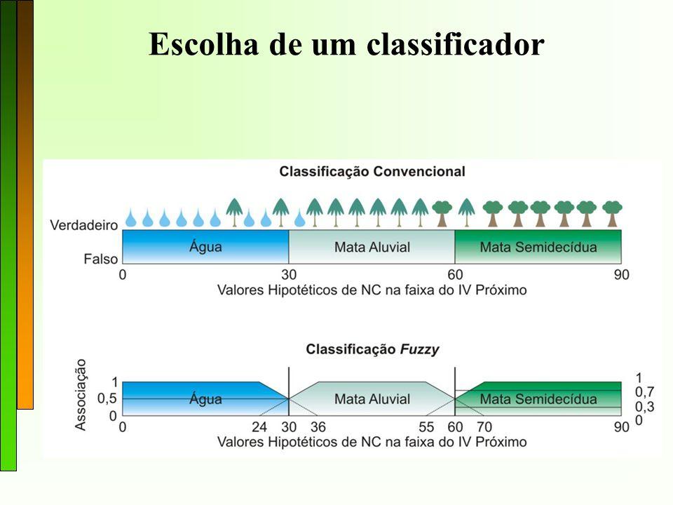 Escolha de um classificador