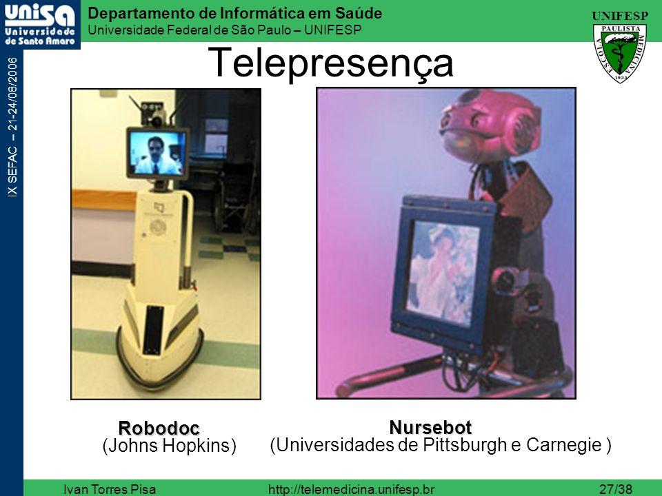 Telepresença Robodoc (Johns Hopkins)