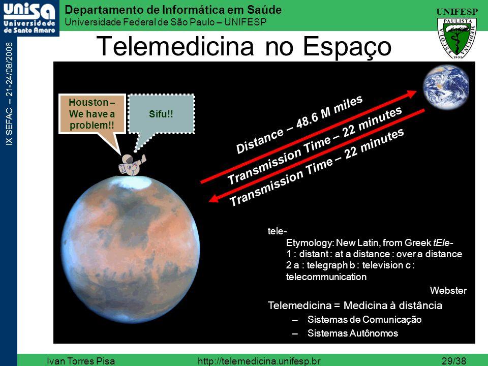 Telemedicina no Espaço