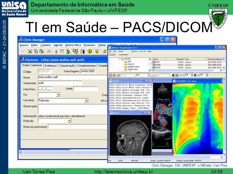 TI em Saúde – PACS/DICOM