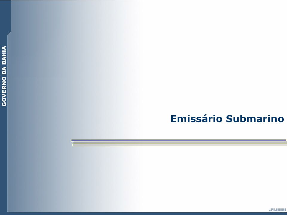 Emissário Submarino.