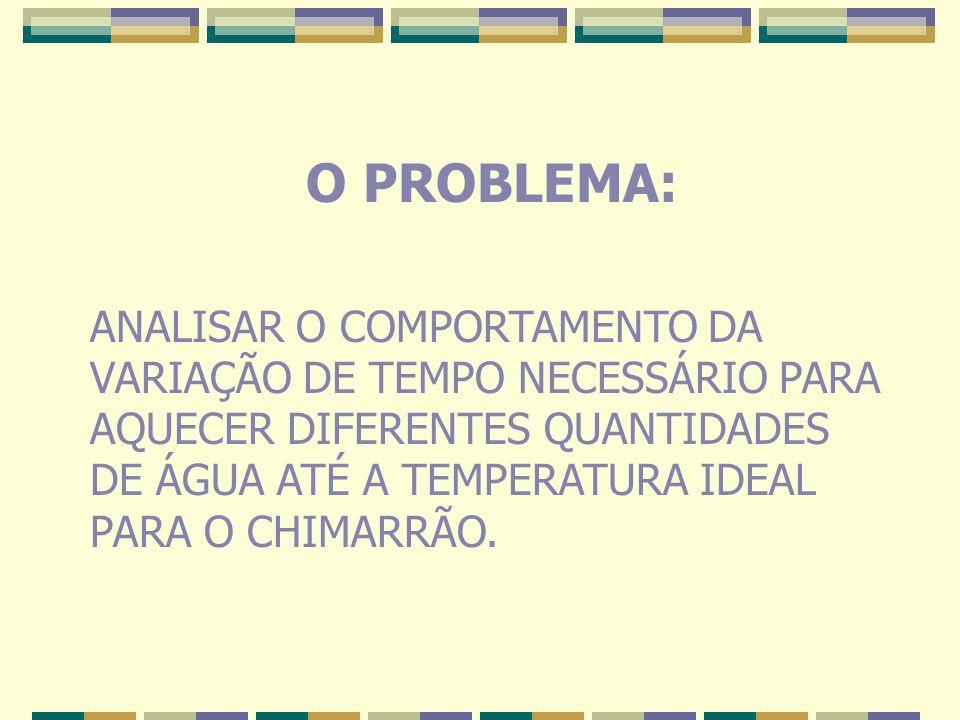 O PROBLEMA: