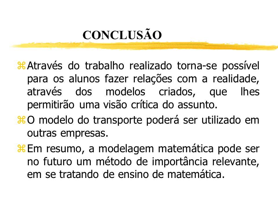 Exemplo de conclusão de relatório