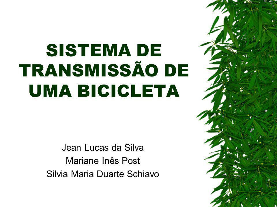 SISTEMA DE TRANSMISSÃO DE UMA BICICLETA