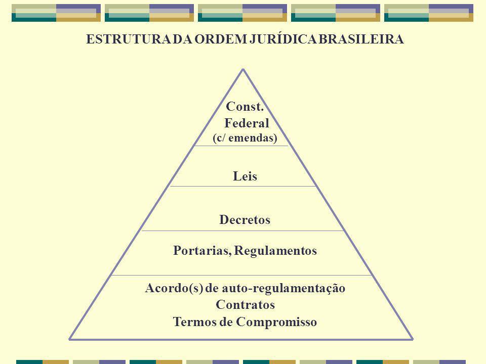ESTRUTURA DA ORDEM JURÍDICA BRASILEIRA