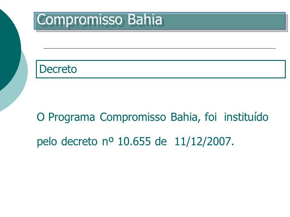 Compromisso Bahia Decreto de Criação
