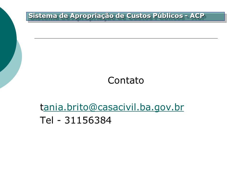 Contato tania.brito@casacivil.ba.gov.br Tel - 31156384