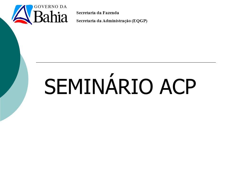 SEMINÁRIO ACP
