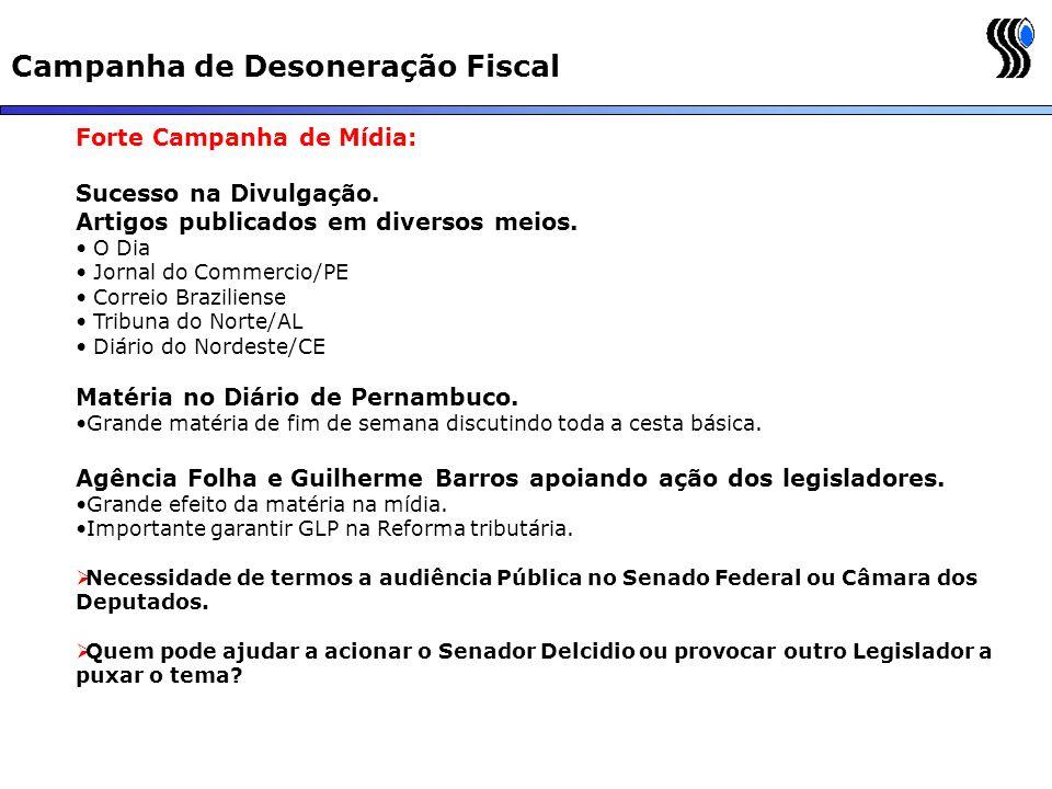 Campanha de Desoneração Fiscal