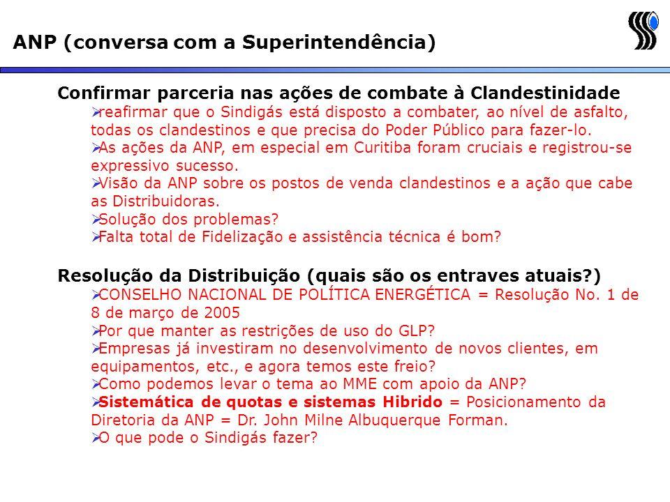 ANP (conversa com a Superintendência)