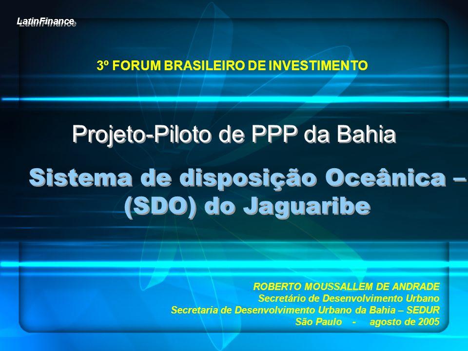 3º FORUM BRASILEIRO DE INVESTIMENTO
