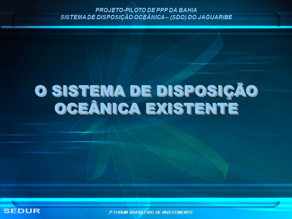 O SISTEMA DE DISPOSIÇÃO OCEÂNICA EXISTENTE