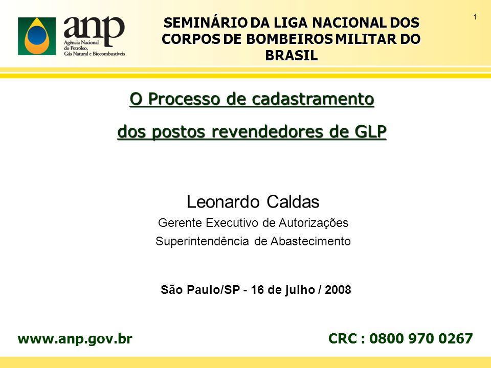 SEMINÁRIO DA LIGA NACIONAL DOS CORPOS DE BOMBEIROS MILITAR DO BRASIL