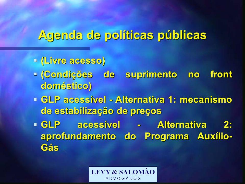 Agenda de políticas públicas