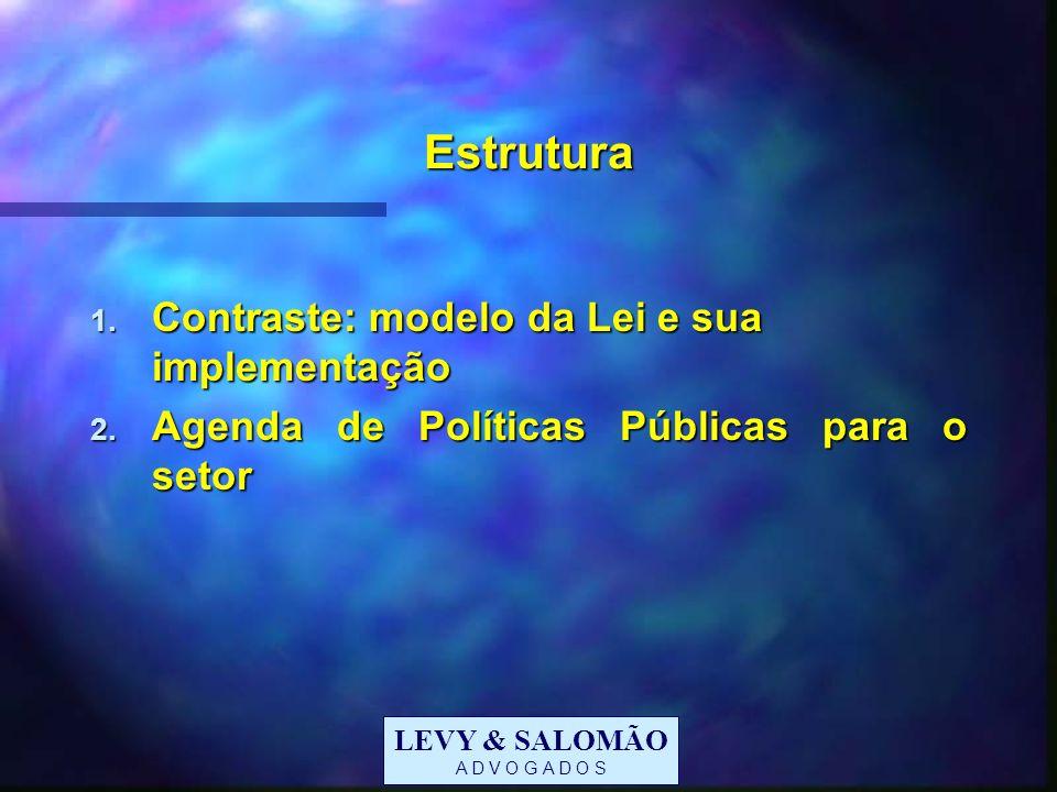 Estrutura Contraste: modelo da Lei e sua implementação