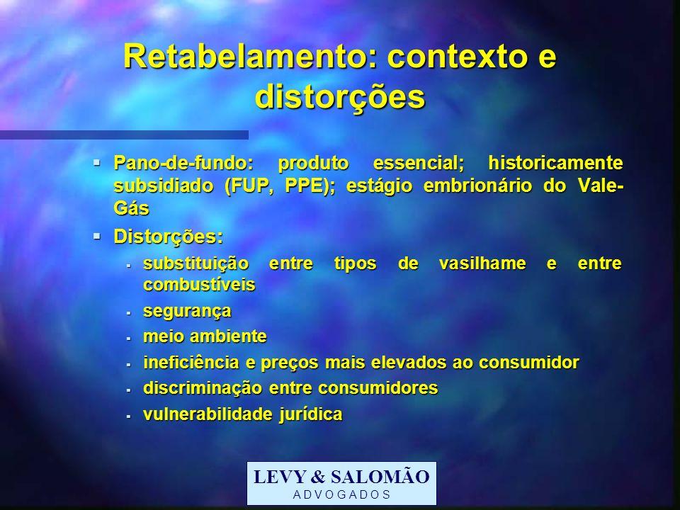 Retabelamento: contexto e distorções