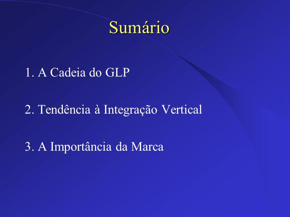 Sumário 1. A Cadeia do GLP 2. Tendência à Integração Vertical