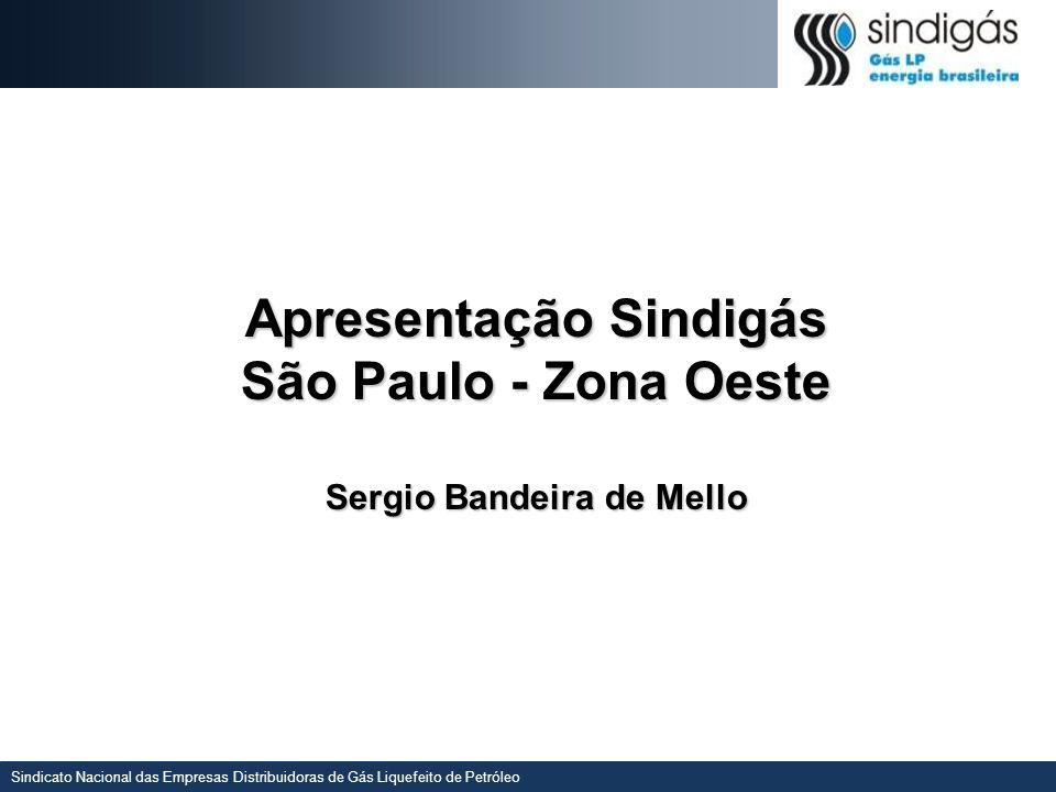 Apresentação Sindigás São Paulo - Zona Oeste Sergio Bandeira de Mello