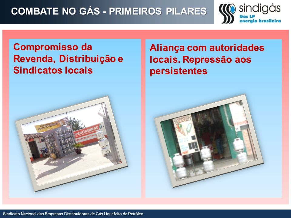COMBATE NO GÁS - PRIMEIROS PILARES