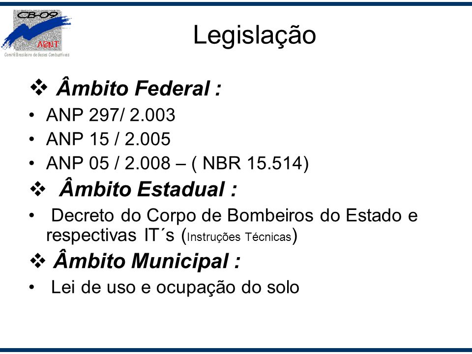 Legislação Âmbito Federal : Âmbito Estadual : Âmbito Municipal :