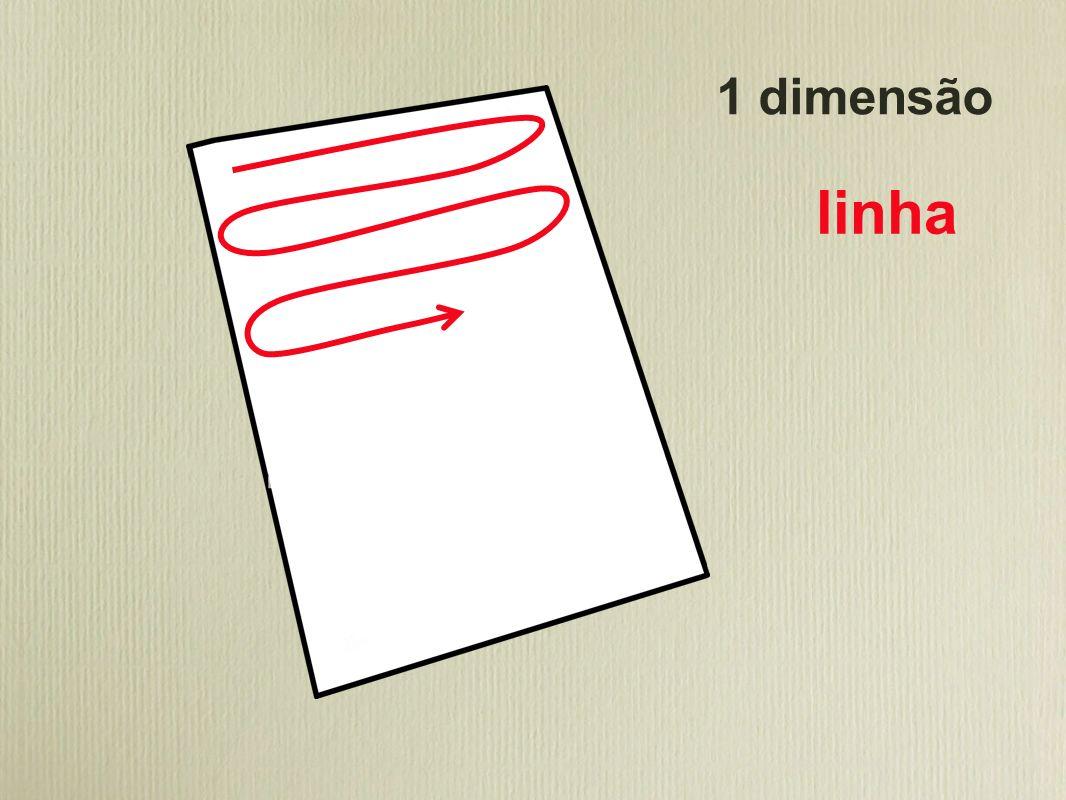 1 dimensão linha